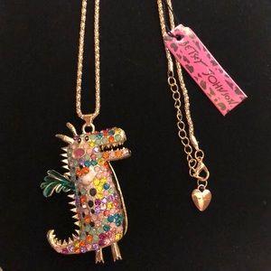 BetseyJohnson Dragon Necklace